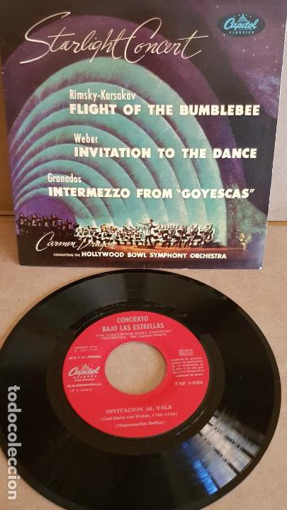 STARLIGHT CONCERT / ORCH. HOLLYWOOD BOWL SIMPHONY / EP-CAPITOL-1959 / MBC. ***/*** (Música - Discos de Vinilo - EPs - Clásica, Ópera, Zarzuela y Marchas)