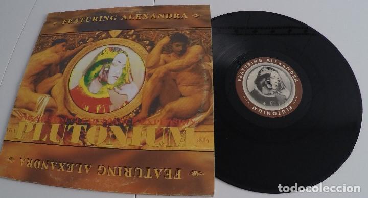 PLUTONIUM FEAT ALEXANDRA - VIRTUAL REALITY (Música - Discos de Vinilo - Maxi Singles - Techno, Trance y House)