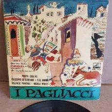 Discos de vinilo: I PAGLIACCI / VARIOS ARTISTAS / SCALA DE MILAN / EP-VOZ DE SU AMO-1961 / MBC. ***/***. Lote 155365030