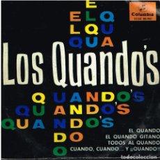 Discos de vinilo: LOS QUANDO'S - CUANDO CUANDO Y QUANDO / EL QUANDO / EL QUANDO GITANO / TODOS AL QUANDO - EP 1965. Lote 155365118