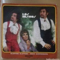 Discos de vinilo: LOS MISMOS - CLAPPING CLAPPING. Lote 155365909