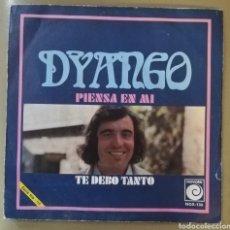 Discos de vinilo: DYANGO - PIENSA EN MI. Lote 155366016