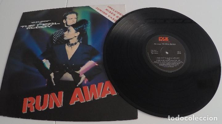 M.C.SAR & THE REAL MCCOY - RUN AWAY (Música - Discos de Vinilo - Maxi Singles - Techno, Trance y House)