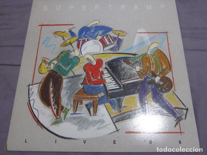 SUPERTRAMP - LIVE 88 - LP - EDICION ESPAÑOLA DEL AÑO 1988 - VER FOTOS. (Música - Discos - LP Vinilo - Pop - Rock - New Wave Extranjero de los 80)