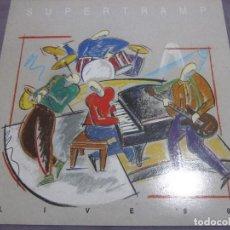 Discos de vinilo: SUPERTRAMP - LIVE 88 - LP - EDICION ESPAÑOLA DEL AÑO 1988 - VER FOTOS.. Lote 155366822