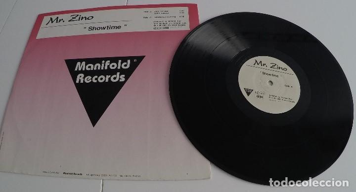 MR. ZINO - SHOWTIME (Música - Discos - Singles Vinilo - Techno, Trance y House)