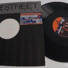 Discos de vinilo: FUNTOPIA - FREEDOM (RICHIE RICH REMIX). Lote 155371754