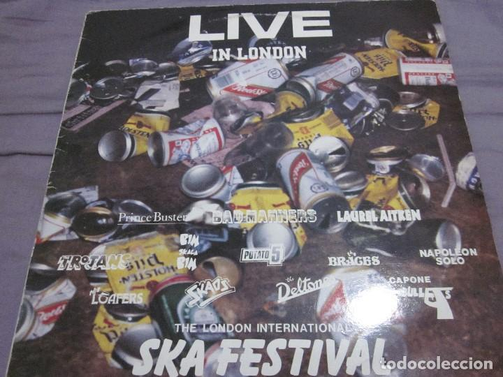 LIVE IN LONDON - THE INTERNATIONAL SKA FESTIVAL - LP - TROJANS,LAUREL AITKEN,SKAOS,ETC. (Música - Discos - LP Vinilo - Reggae - Ska)