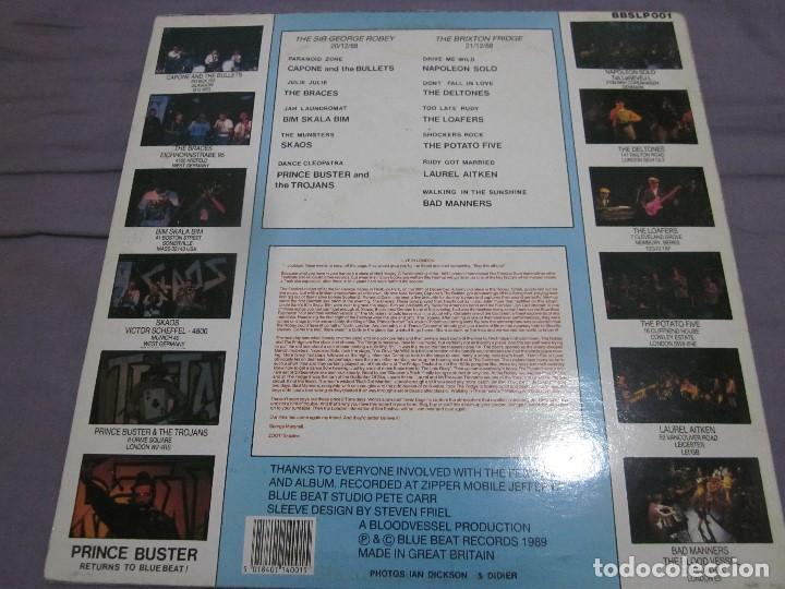 Discos de vinilo: LIVE IN LONDON - THE INTERNATIONAL SKA FESTIVAL - LP - TROJANS,LAUREL AITKEN,SKAOS,ETC. - Foto 2 - 155375374
