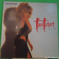 Discos de vinilo: EP 12'' TINA TURNER – TYPICAL MALE . Lote 155377258
