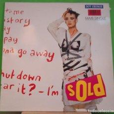 Discos de vinilo: MAXI 12'' BOY GEORGE – SOLD. Lote 155377830