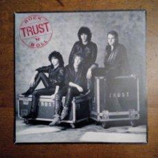 Discos de vinilo: TRUST - ROCK 'N' ROLL, CBS, 1984. HOLLAND.. Lote 155379250