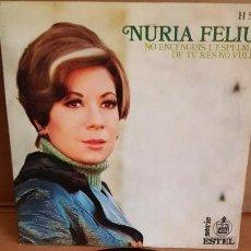 Discos de vinilo: NÚRIA FELIU / NO ENCENGUIS L'ESPELMA / SG - HISPAVOX-ESTEL - 1969 / MBC. ***/***. Lote 155381482