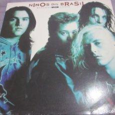 Discos de vinilo: NIÑOS DEL BRASIL - MENSAJES AL VIENTO - LP - EDICION DEL AÑO 1991.. Lote 165212725