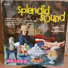 Discos de vinilo: ENOCH LIGHT Y SU ORQUESTA / SPLENDID SOUND / EP-BELTER-1960 / MBC. ***/***. Lote 155390570