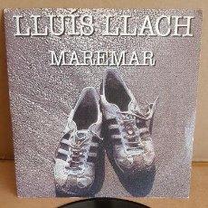Discos de vinilo: LLUÍS LLACH / MAREMAR / SG-PROMO - ARIOLA -1985 / MBC. ***/***. Lote 155395850