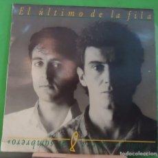 Discos de vinilo: LP EL ÚLTIMO DE LA FILA – COMO LA CABEZA AL SOMBRERO. Lote 155396078