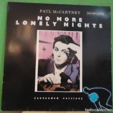 Discos de vinilo: MAXI 12'' PAUL MCCARTNEY – NO MORE LONELY NIGHTS . Lote 155397226