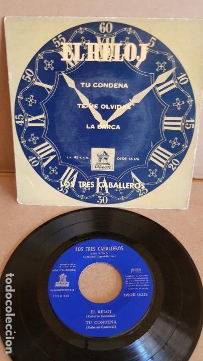 LOS TRES CABALLEROS / EL RELOJ / EP - ODEON - 1959 / MBC. ***/*** (Música - Discos de Vinilo - EPs - Grupos y Solistas de latinoamérica)