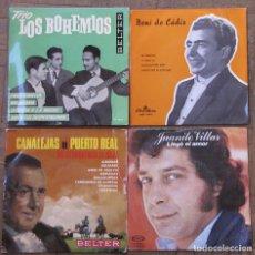 Discos de vinilo: 4 SINGLES. VARIOS ESTADOS.. Lote 155405494