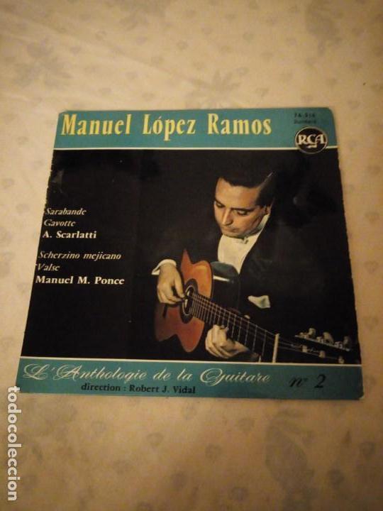MANUEL LOPEZ RAMOS / SARABANDE / GAVOTTE / SCHERZINO MEJICANO / VALSE (EP FRANCES) (Música - Discos de Vinilo - EPs - Orquestas)