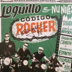 Discos de vinilo: LOQUILLO & NU NILES. CÓDIGO ROCKER FIRMADO. Lote 155423194
