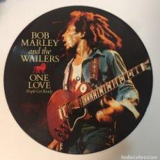 Discos de vinilo: DISCO VINILO BOB MARLEY - ONE LOVE (PICTURE DISC). Lote 155423208