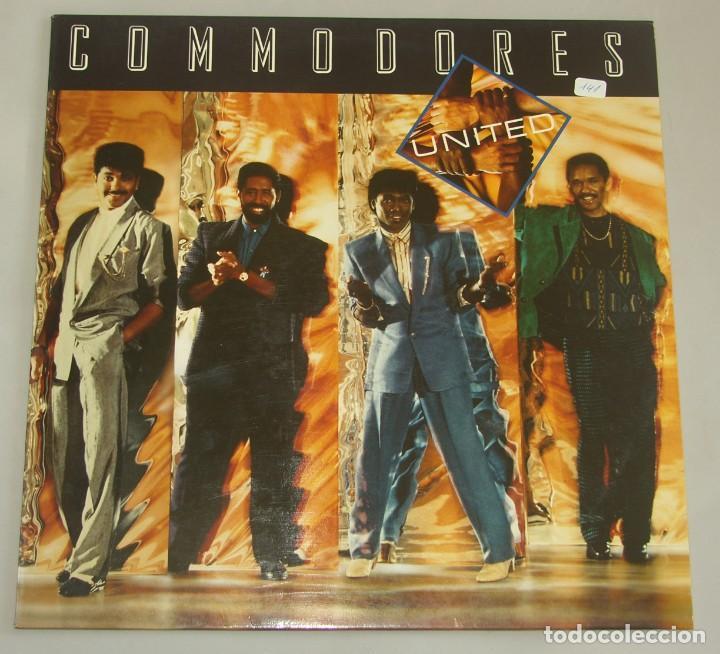 COMMODORES - UNITED - LP - POLYDOR 1986 (Música - Discos - LP Vinilo - Funk, Soul y Black Music)