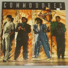 Discos de vinilo: COMMODORES - UNITED - LP - POLYDOR 1986. Lote 155432270