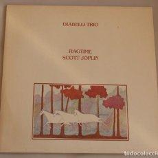 Discos de vinilo: DIABELLI TRIO – RAGTIME SCOTT JOPLIN - MELOSMUSIK – 0060.414 - 1981. Lote 155433426