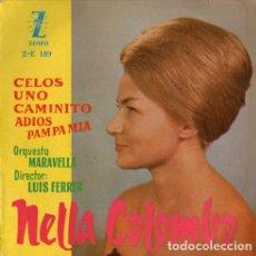 Discos de vinilo: NELLA COLOMBO - TANGOS - EP ZAFIRO SPAIN 1960. Lote 155441886