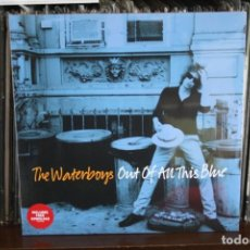 Discos de vinilo: THE WATERBOYS. OUT OF AN THIS BLUE. DOBLE LP, GATEFOLD, MADE IN UK 2017. Lote 155448670