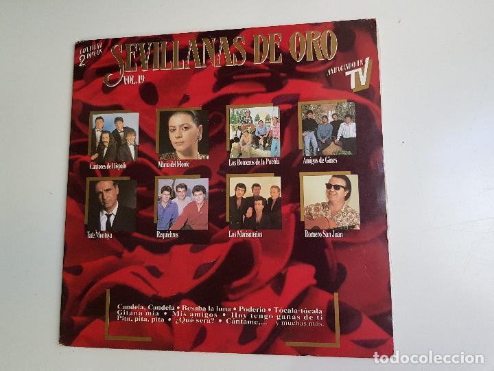 VARIOUS - SEVILLANAS DE ORO VOL.19 (VINILO) (Música - Discos de Vinilo - Maxi Singles - Flamenco, Canción española y Cuplé)