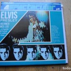 Discos de vinilo: WERNER MULLER Y ORQUESTA LONDRES. ELVIS PRESLEY. PDI 1987. LP COMO NUEVO. Lote 155449154