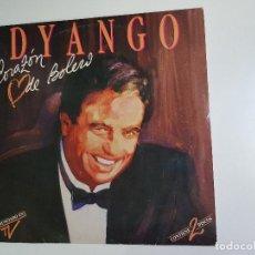 Discos de vinilo: DYANGO - CORAZÓN DE BOLERO (VINILO). Lote 155457650