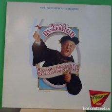Discos de vinilo: LP VARIOUS – BACK TO SCHOOL - MUSIC FROM THE MOTION PICTURE SOUNDTRACK . Lote 155459182