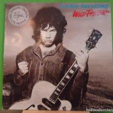 Discos de vinilo: LP GARY MOORE – WILD FRONTIER . Lote 155459994