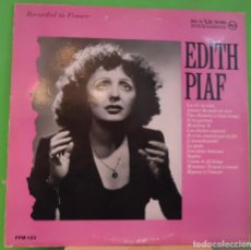 Discos de vinilo: LP EDITH PIAF – PIAF IN HER GREAT YEARS . Lote 155460898