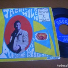 Discos de vinilo: 7'' JACKIE WILSON / ED SPAIN DECCA 1963 PROMO. Lote 155462590