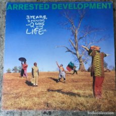Discos de vinilo: ARRESTED DEVELOPMENT - 3 YEARS, 5 MONTHS AND 2 DAYS IN THE LIFE OF . LP . 1992 UK . Lote 155463486