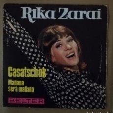 Discos de vinilo: RIKA ZARSI - CASATSCHOK. Lote 155465457