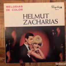 Discos de vinilo: HELMUT ZACHARIAS Y SU ORQUESTA – MELODIAS DE COLOR SELLO: PERGOLA – 30103 B FORMATO: VINYL, LP . Lote 155465782