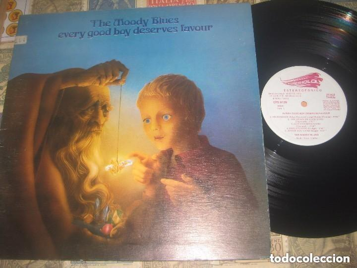 THE MOODY BLUES - EVERY GOOD BOY DESERVES (THRESHOLD 1971) GATEFOLD OG ESPAÑA LEA DESCRIPCION (Música - Discos - LP Vinilo - Pop - Rock Extranjero de los 50 y 60)