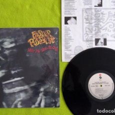 Discos de vinilo: FASTER PUSSYCAT. WAKE ME WHEN IT'S OVER. MADE IN USA 1989.. Lote 155480542