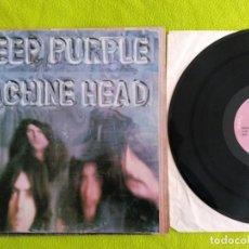 Discos de vinilo: DEEP PURPLE. MACHINE HEAD. 1972 MADE IN ITALY.. Lote 155483486