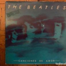 Discos de vinilo: THE BEATLES – CANCIONES DE AMOR SELLO: ODEON – 10C 170-006560/1 FORMATO: 2 × VINYL, LP, COMPILATIO. Lote 155484462