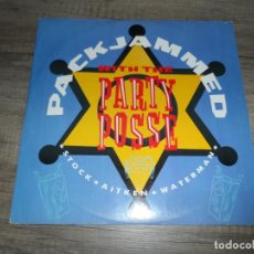 Discos de vinilo: STOCK - AITKEN - WATERMAN – PACKJAMMED (WITH THE PARTY POSSE) . Lote 155487842