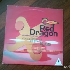 Discos de vinilo: RED DRAGON WITH BRIAN AND TONY GOLD-COMPLIMENTS ON YOUR KISS.MAXI. Lote 155501454