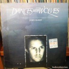 Discos de vinilo: DANCES WITH WOLVES - ORIGINAL MOTION PICTURE SOUNDTRACK. Lote 155502530