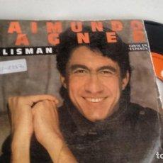 Discos de vinilo: SINGLE (VINILO) DE RAIMUNDO FAGNER EN ESPAÑOL AÑOS 80. Lote 155503446